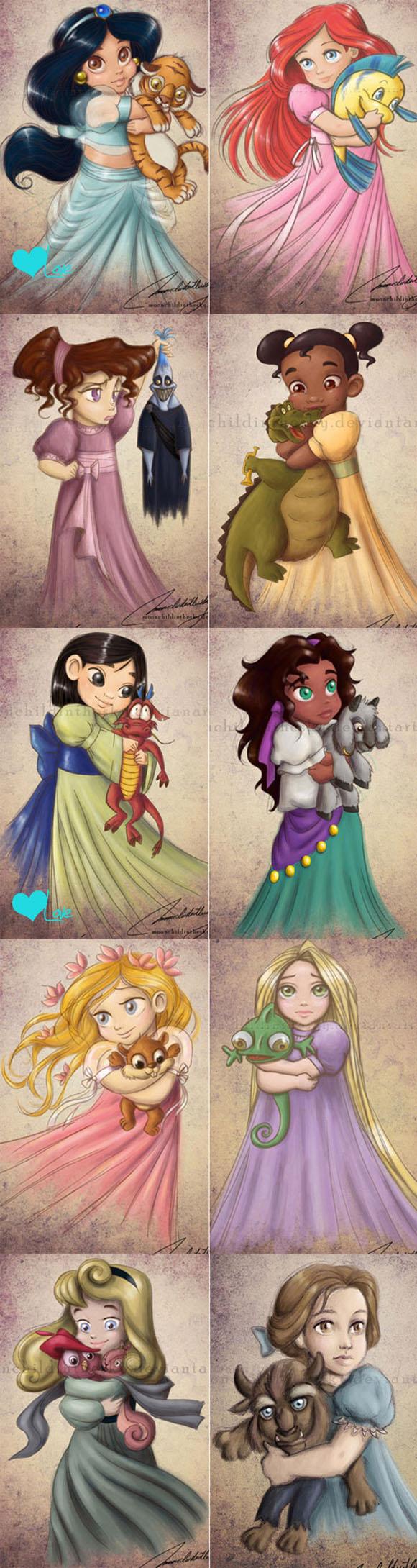 princesas_criancas